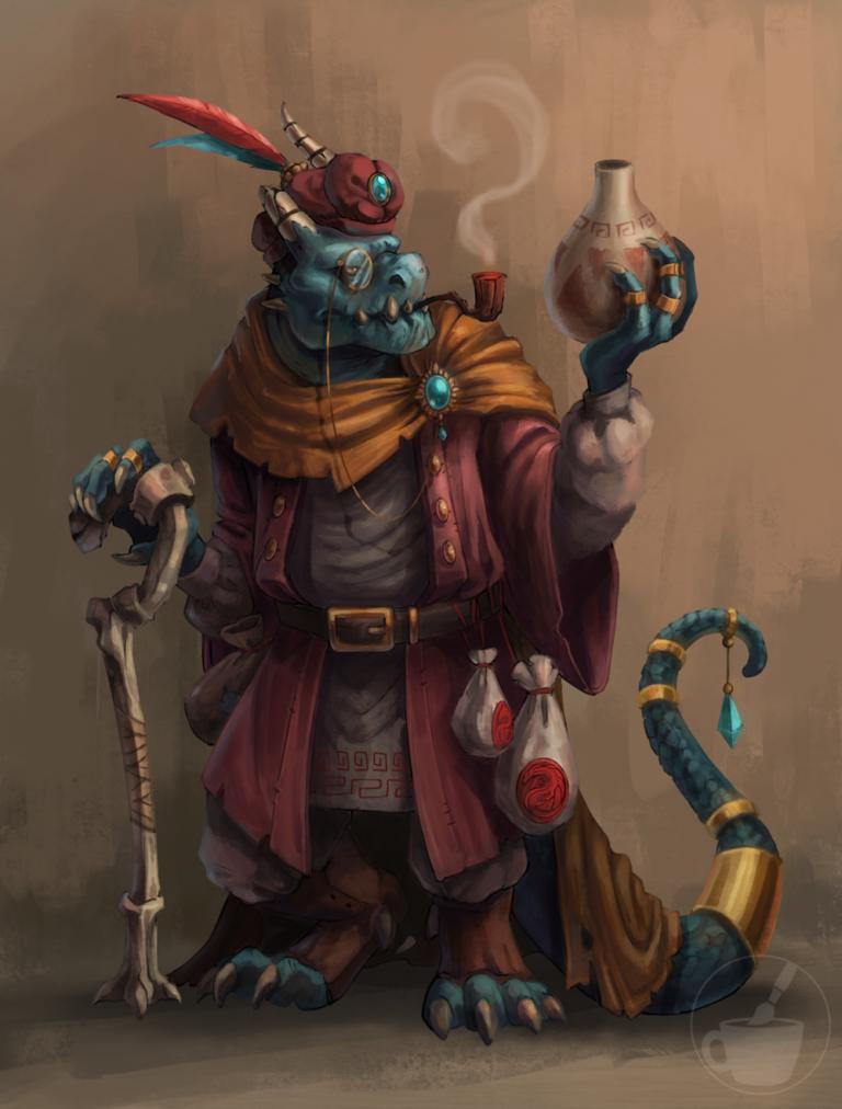 Dragonborn Curator
