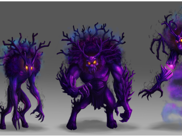 concept art creature monster illustration