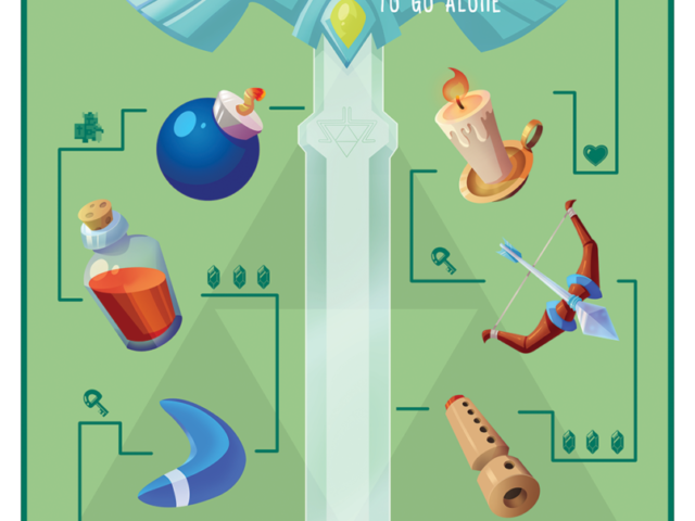 legend of zelda master sword items nintendo