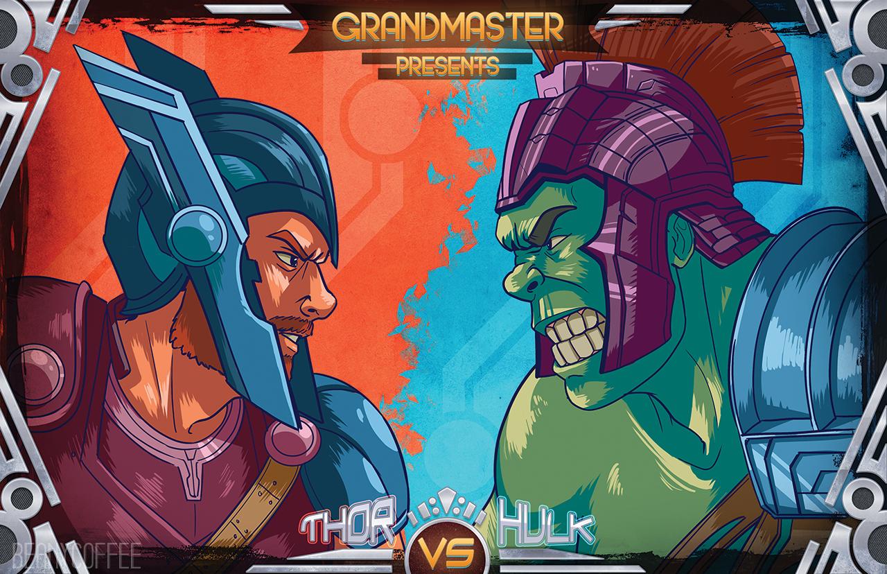 marvel thor hulk superhero